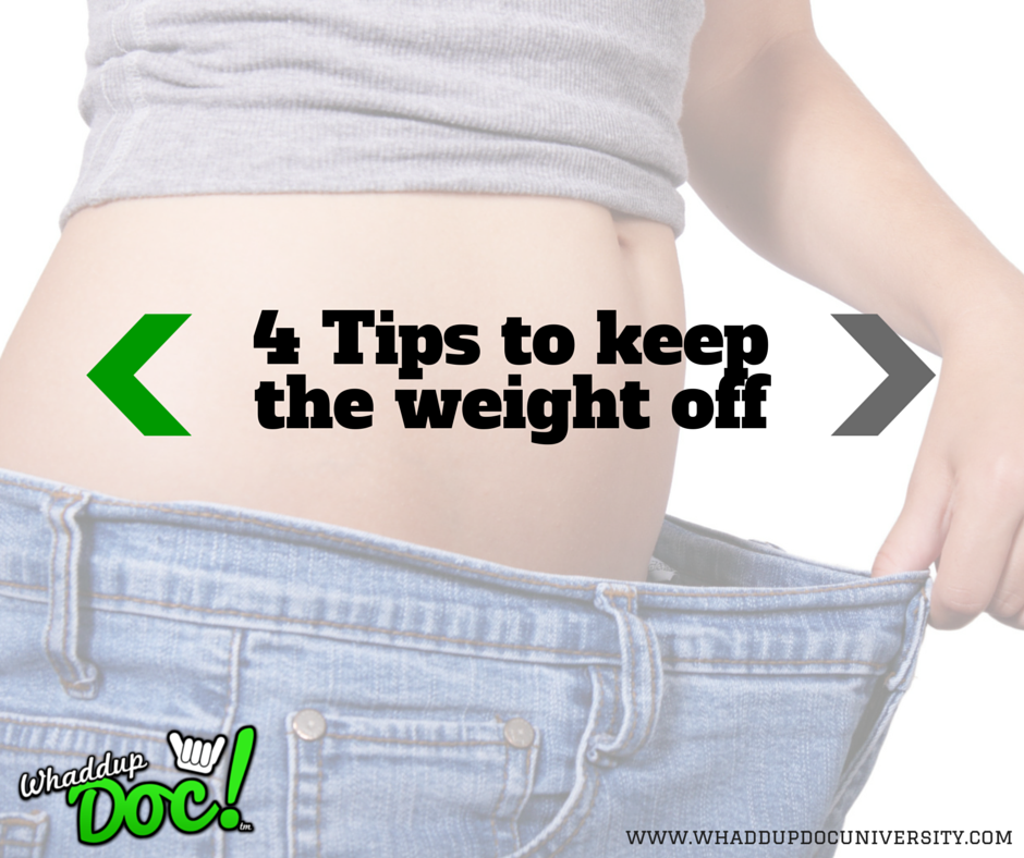 4 easy steps to lasting weight loss
