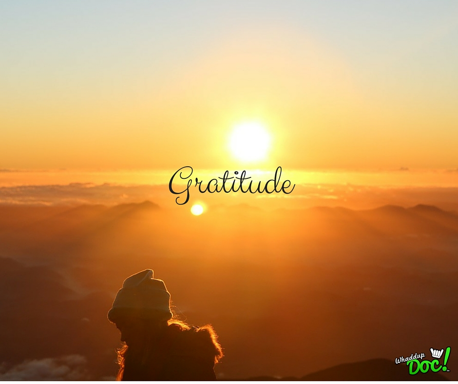 How gratitude helps you live a full life
