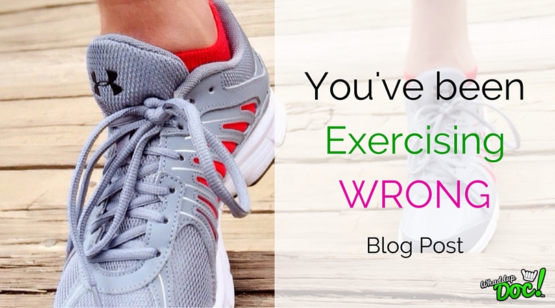 How to exercise correctly…
