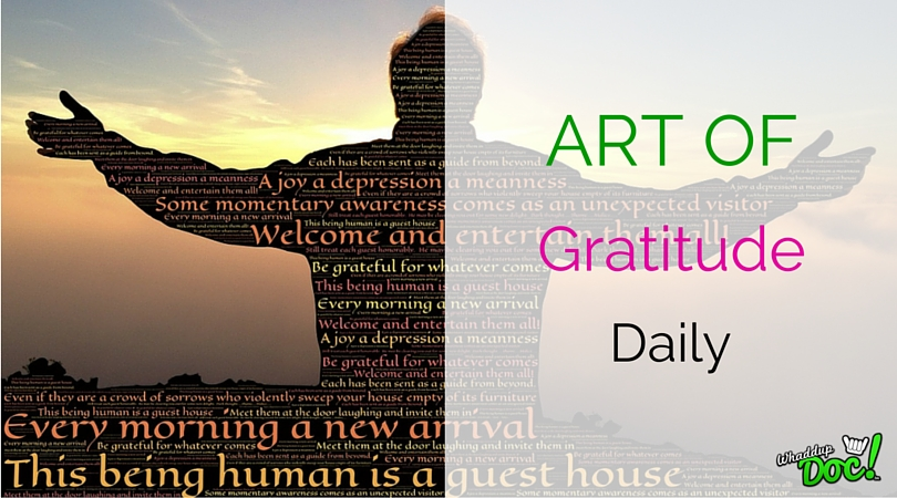 The Art of Giving Thanks