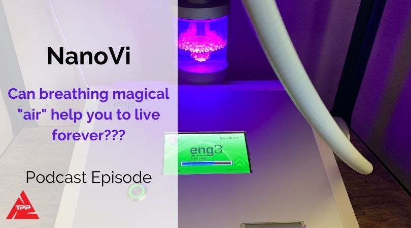 Episode 82: Can breathing magical air help you live forever? with Rowena Gates from NanoVi